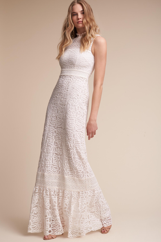 Bridal Shower Dress for Brides Little White Dresses BHLDN