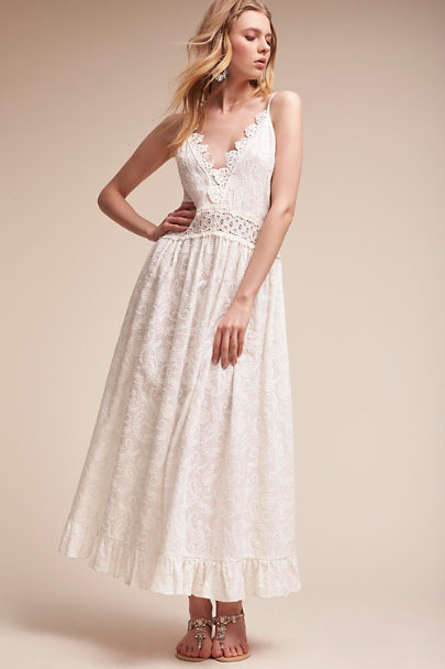 White Shayde Tank Dress | BHLDN