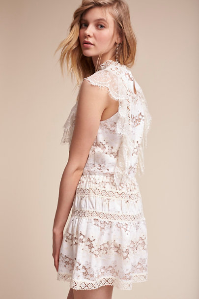 Creme Marais Mini Dress | BHLDN