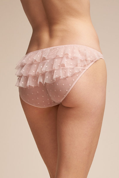 Only Hearts Creme Lali Brief  | BHLDN