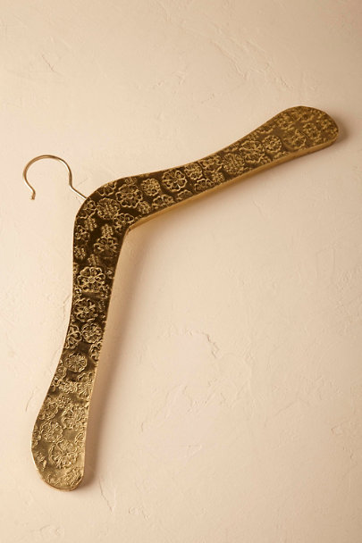 Bronze Gilded Palace Hanger | BHLDN