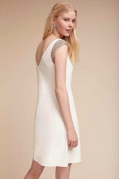 Aidan Mattox Ivory Ayla Dress | BHLDN