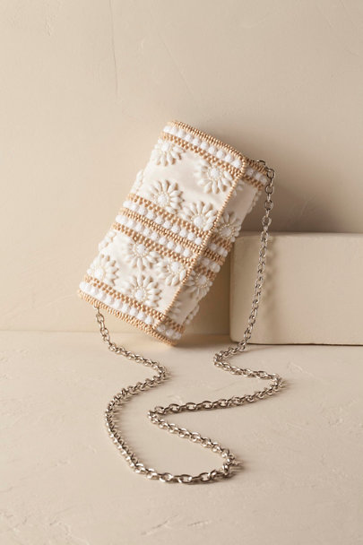 Ivory Lela Clutch | BHLDN