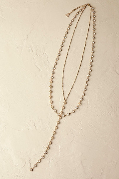 Serefina Gold Lucette Necklace | BHLDN