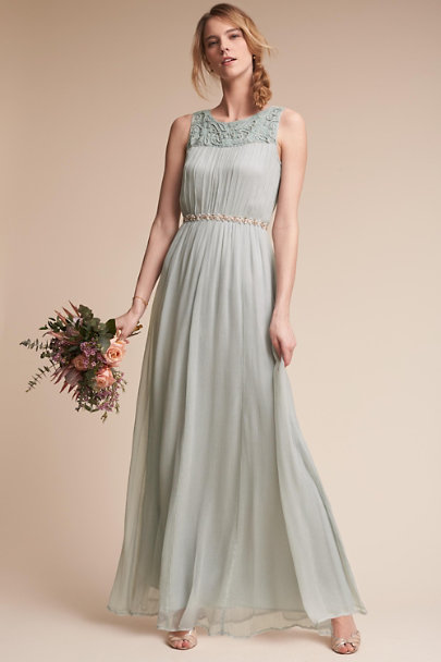 Morning Mist Jayne Dress | BHLDN