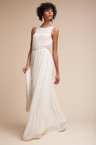 Hitherto Ivory Jayne Dress | BHLDN