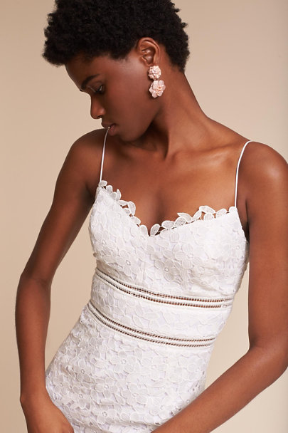 White Alessa Dress | BHLDN