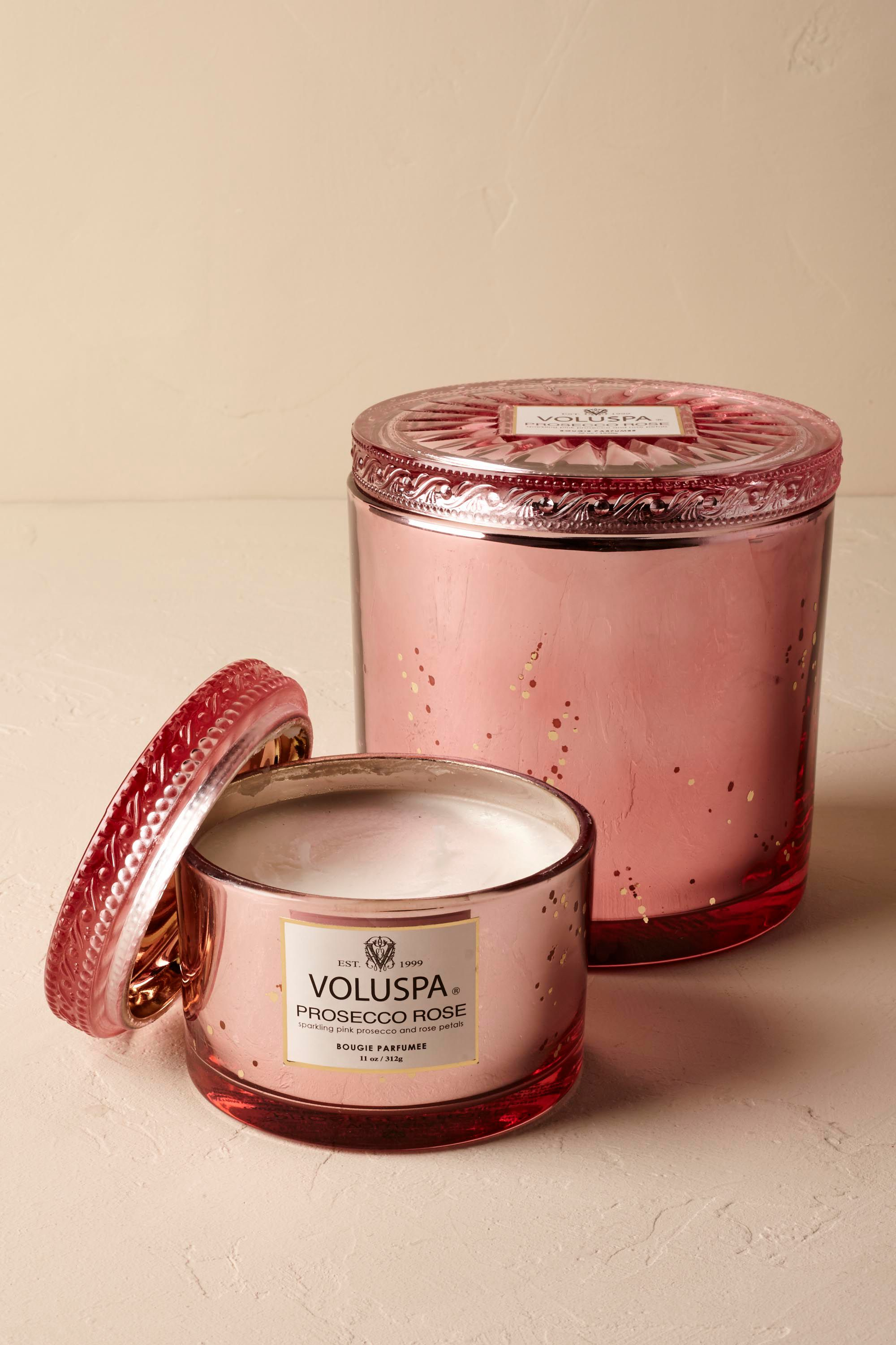Prosecco Rose Candle