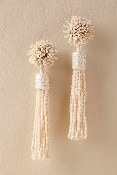 Silver Adelia Earrings | BHLDN