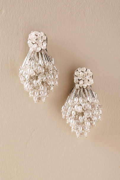 Silver Carly Earrings  | BHLDN