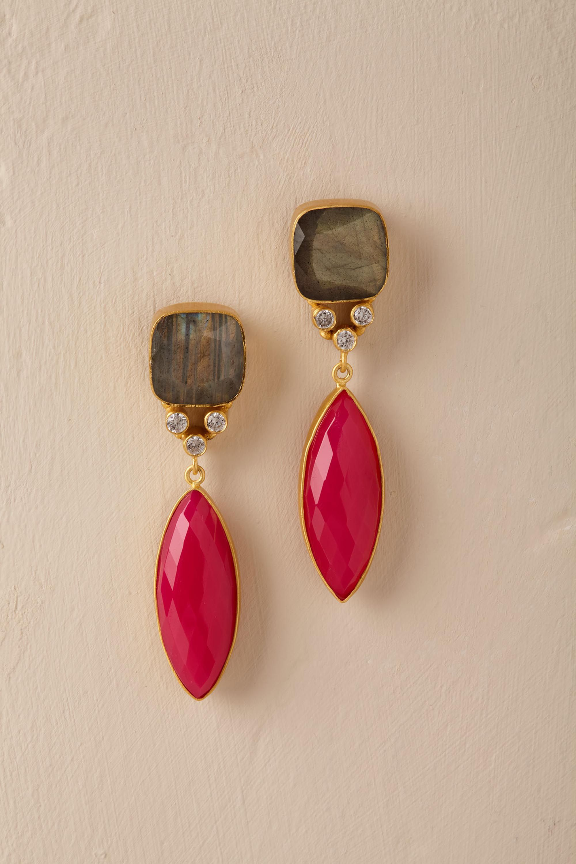 Izzy Gemstone Earrings
