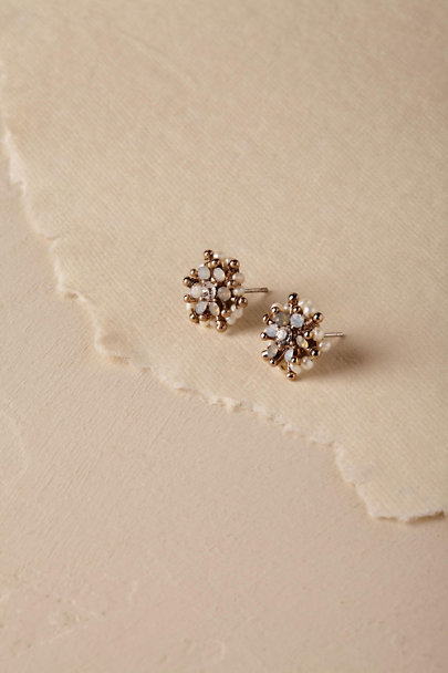 Theia Jewelry Gold Connie Earrings  | BHLDN
