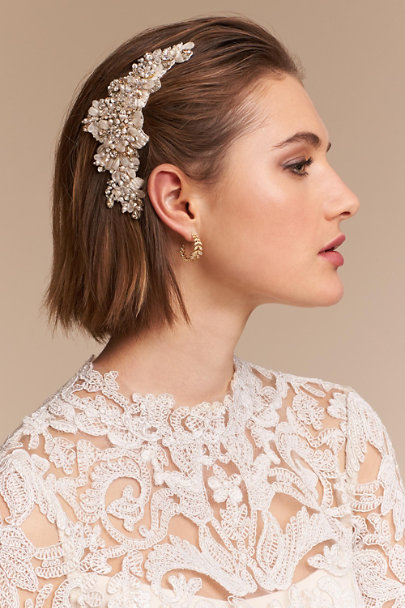 A.B. Ellie Gold Lizie Comb | BHLDN