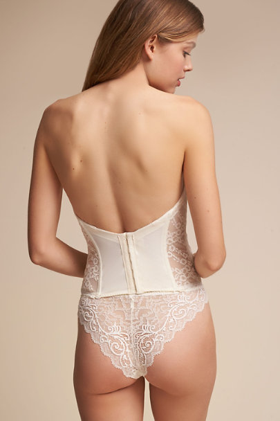 Ivory Filippa Lace Corset | BHLDN