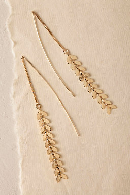 Dancing Leaves Drop Earrings