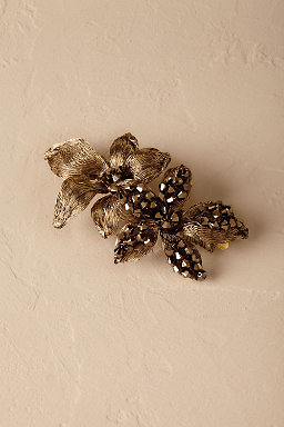 Twilight Blooms Barrette