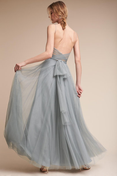 Watters French Blue Tinsley Dress | BHLDN