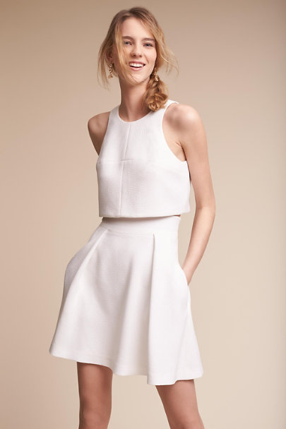 Ivory Lynnewood Two-Piece Dress | BHLDN