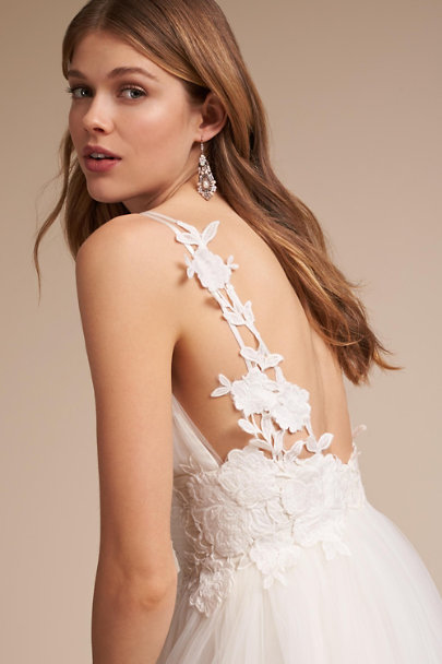 Catherine Deane Ivory Melrose Gown | BHLDN