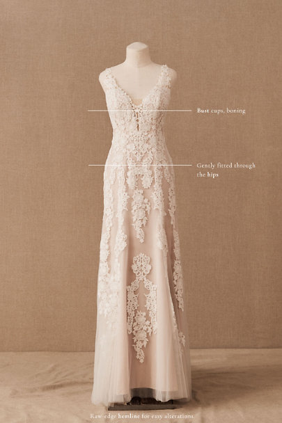 Ivory/Champagne Monarch Gown  | BHLDN