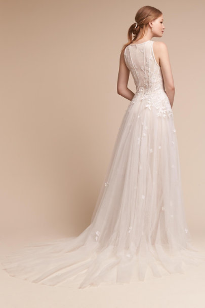 Lace Wedding Dresses Queensland : Ivory queensland gown in bride bhldn