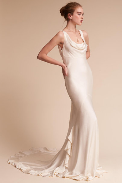 Ghost London Ivory Willow Gown | BHLDN