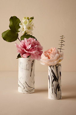 Marbled China Vases