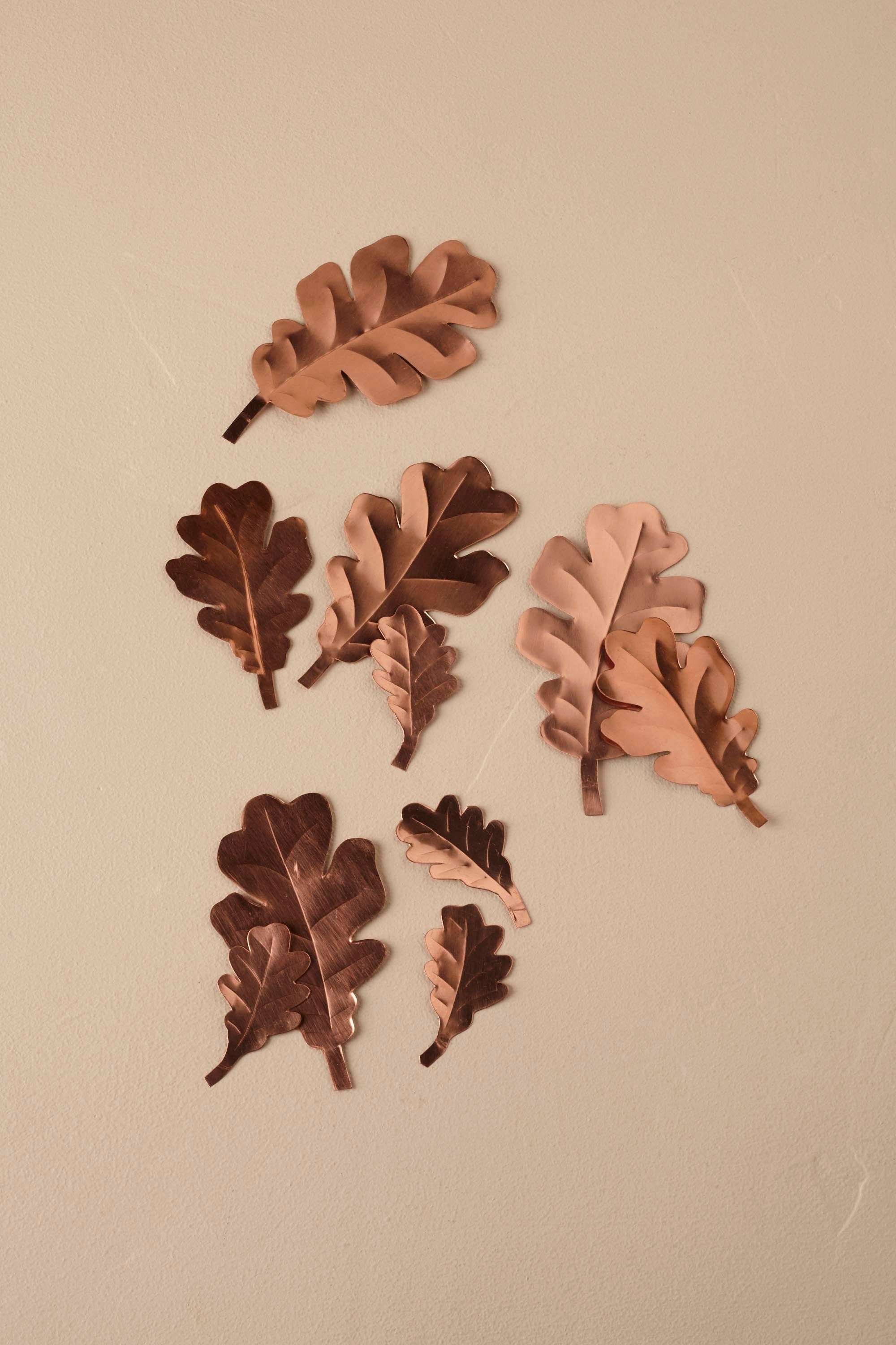 Copper Oak Confetti