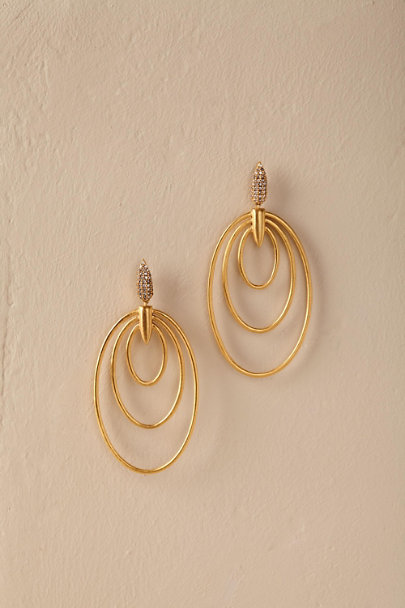 Gold Deniz Earrings | BHLDN