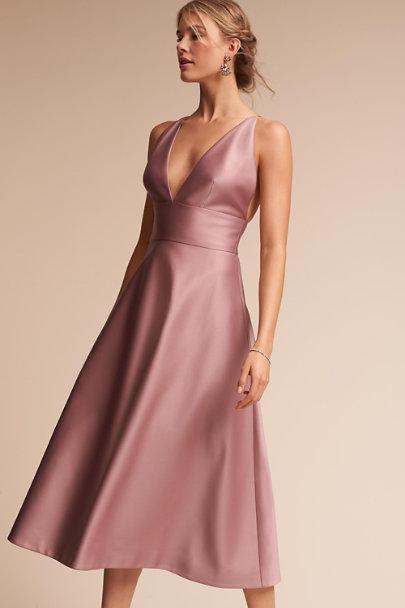 Hitherto Rose Quartz Shelby Dress | BHLDN