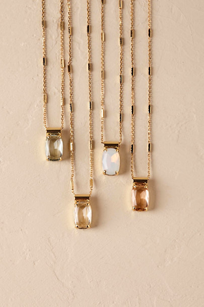 Sorrelli Gold Amis Crystal Necklace | BHLDN