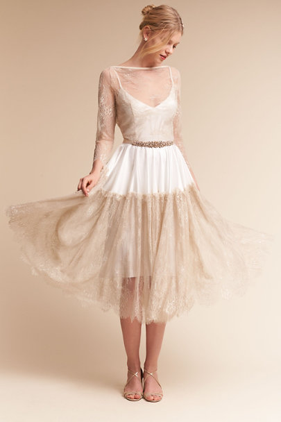Ivory Lotta Overdress | BHLDN
