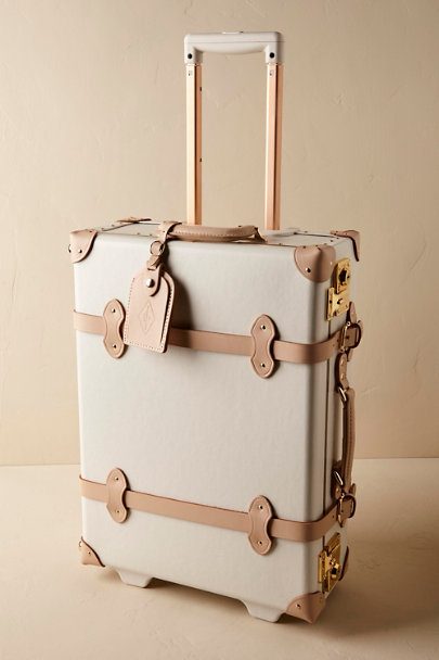 Ivory Sweetheart Luggage | BHLDN