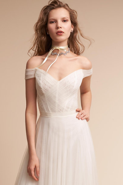 Watters Ivory Heaton Gown | BHLDN