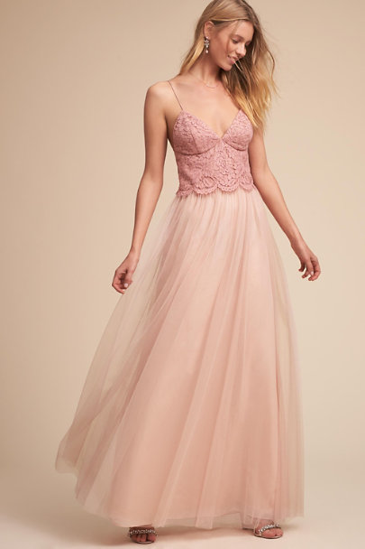 Jenny Yoo Whipped Apricot Pippa Camisole Top | BHLDN