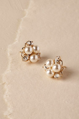 Pax Pearl Stud Earrings