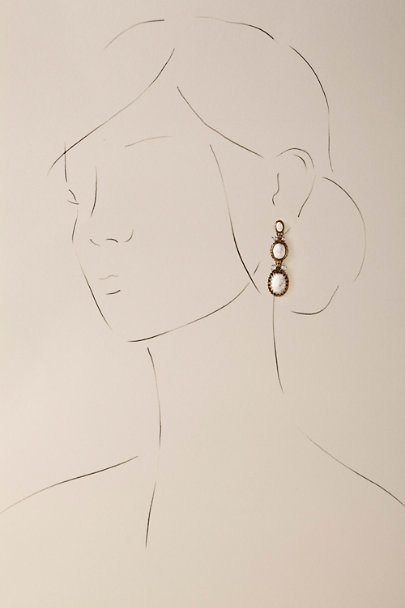 Sorrelli Gold Henri Drop Earrings | BHLDN