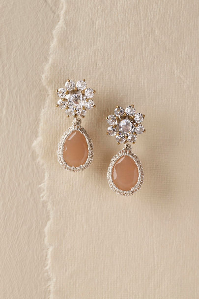 St. Erasmus Gold Celine Earrings | BHLDN