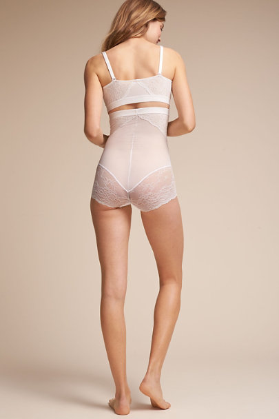 White SPANX Lace Brief | BHLDN