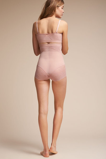 Rose SPANX Lace Brief | BHLDN