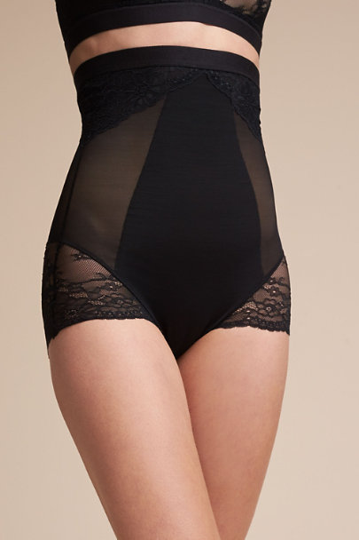 Black SPANX Lace Brief | BHLDN