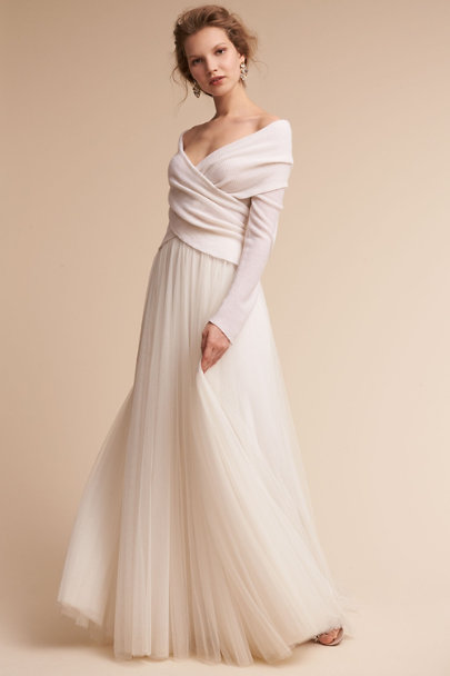 Ivy & Aster Ivory Ethereal Sweater  | BHLDN