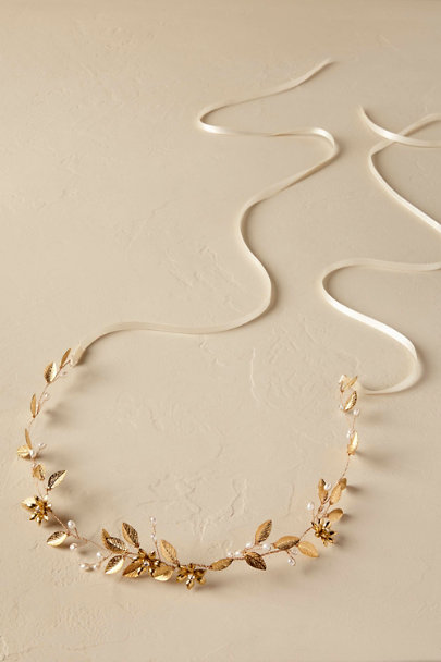 Gold Ariella Sash | BHLDN