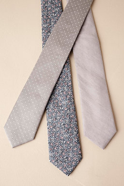 Tie Bar Grey Collection