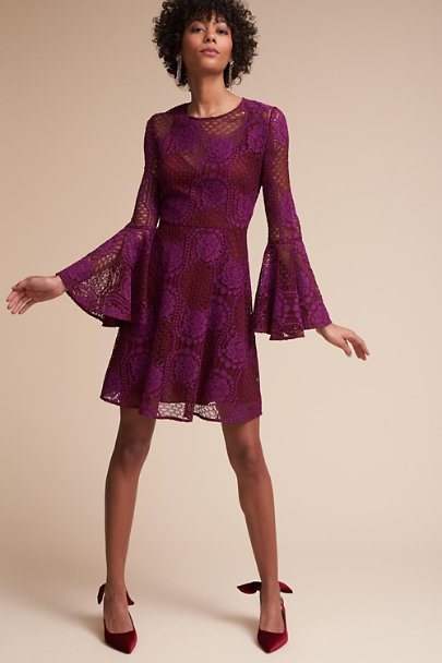 Donna Morgan Fuchsia Russo Dress | BHLDN