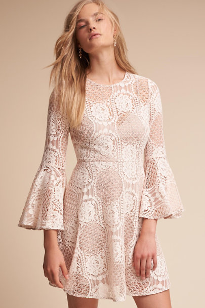 Donna Morgan Ivory Russo Dress | BHLDN
