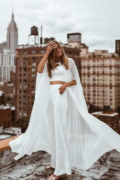 Ivory Kalem Two-Piece Jumpsuit | BHLDN