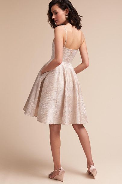 Sau Ivory Winchester Dress | BHLDN