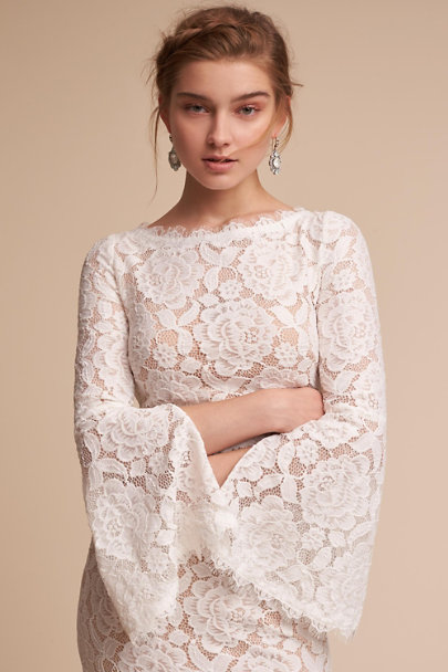 Ivory/Champagne Foster Dress | BHLDN