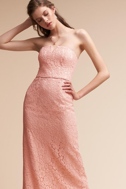 Donna Morgan Pearl Pink Winsome Dress | BHLDN